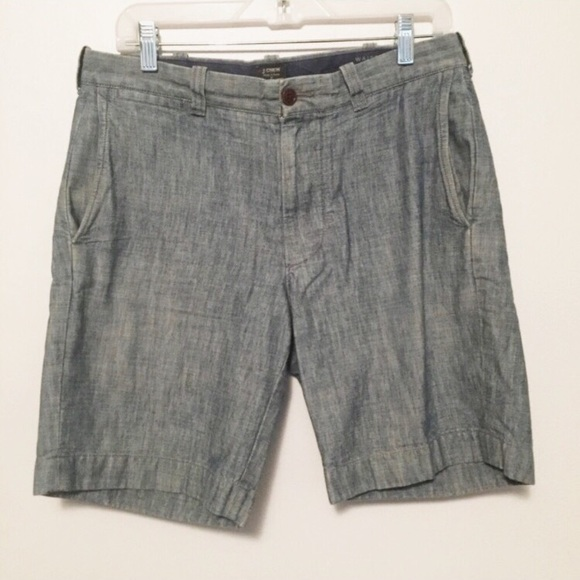 J. Crew Other - J. Crew Stanton shorts (Chambray)